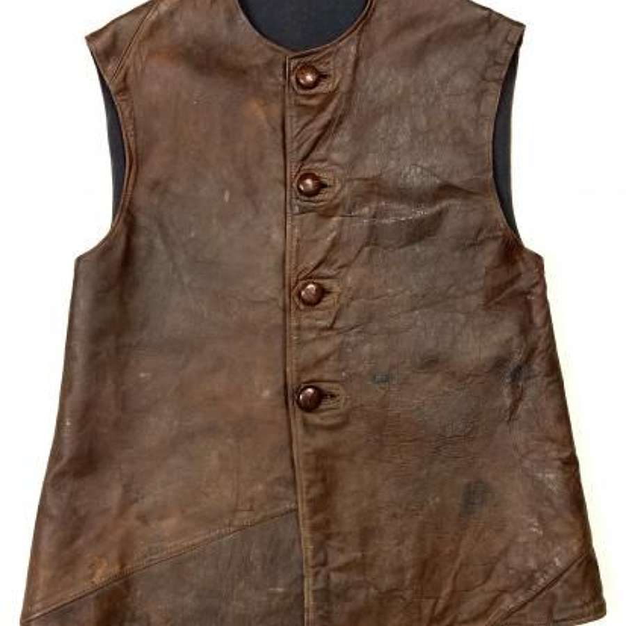 Original WW2 RAF Leather Jerkin