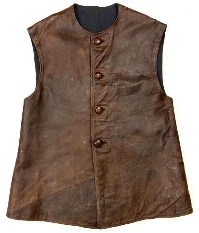 Original WW2 RAF Leather Jerkin