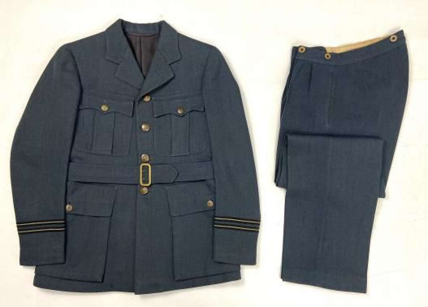 Original WW2 RAF Officers Service Dress Jacket and Trousers