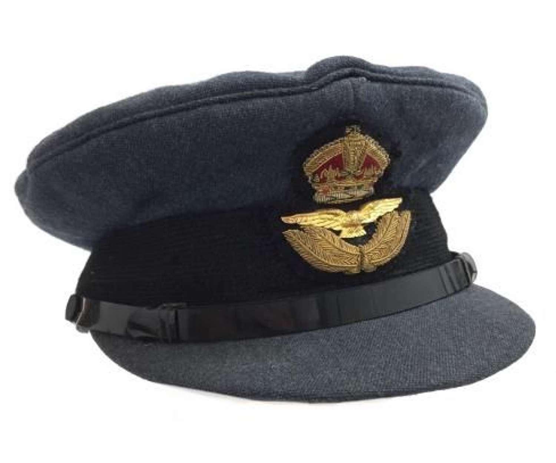 Original RAF Officers Peaked Cap
