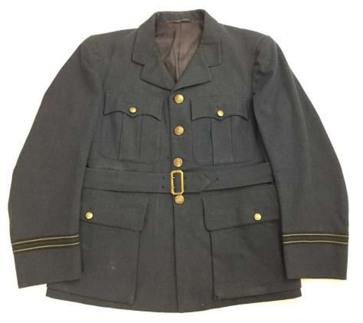 Original 1944 Dated RAF Officers Service Dress Tunic - Large Size!