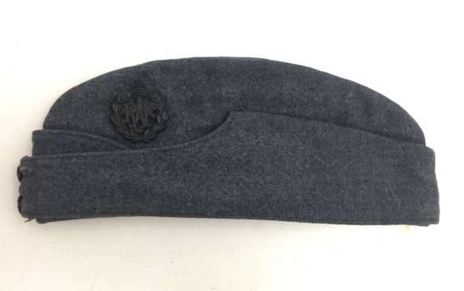 Original WW2 RAF OA Forage Cap with Black Bakelite Cap Badge