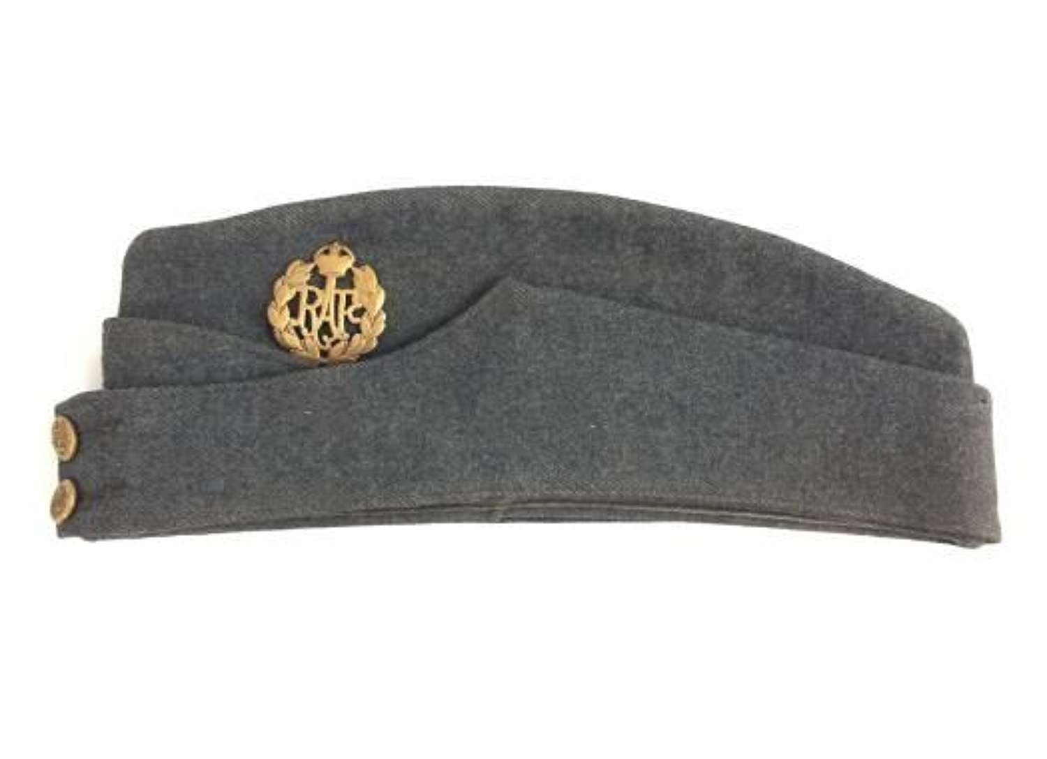 Original 1947 Dated RAF OA Forage Cap - Size 7 3/8