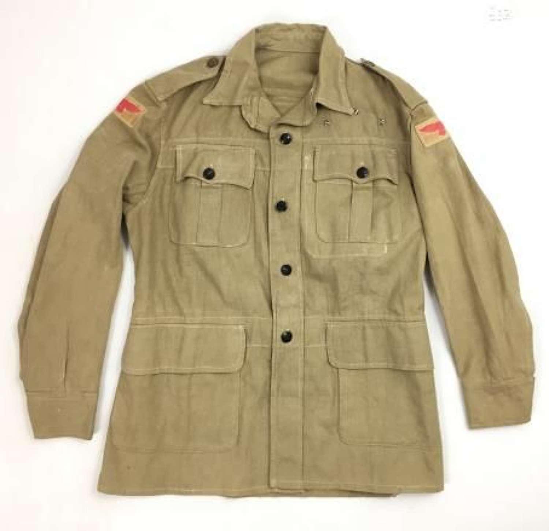 Orginal 1945 Dated RAF Bush Jacket - Size 8