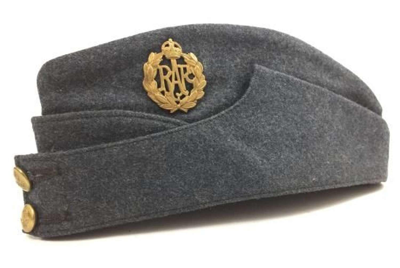 Original 1942 Dated RAF OA Forage Cap - Size 6 5/8
