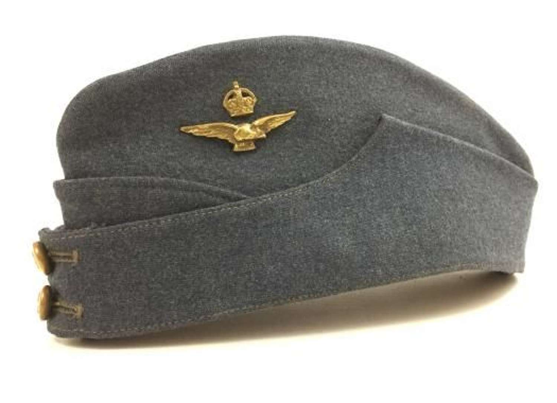 Original WW2 RAF Officers Forage Cap - Size 7 1/8