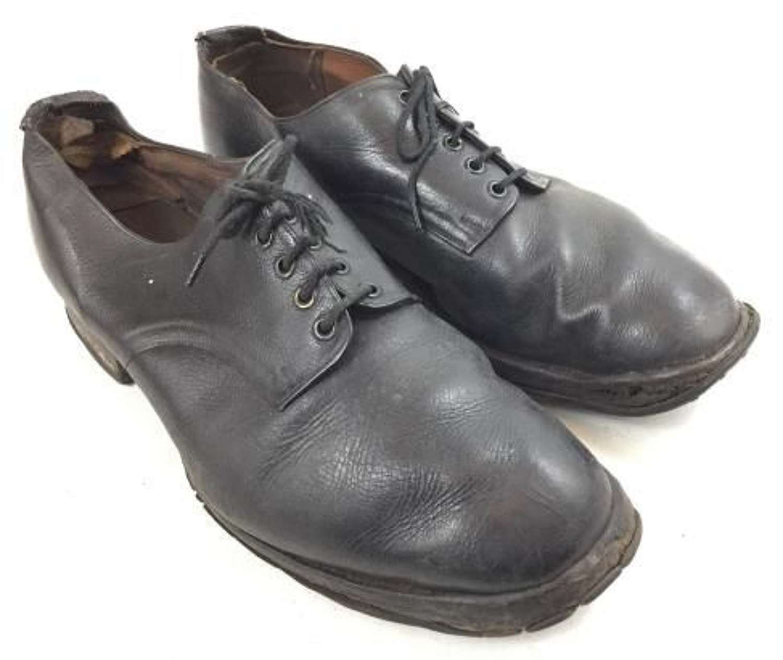 Scarce WW2 Era RAF Ordinary Airman's Shoes