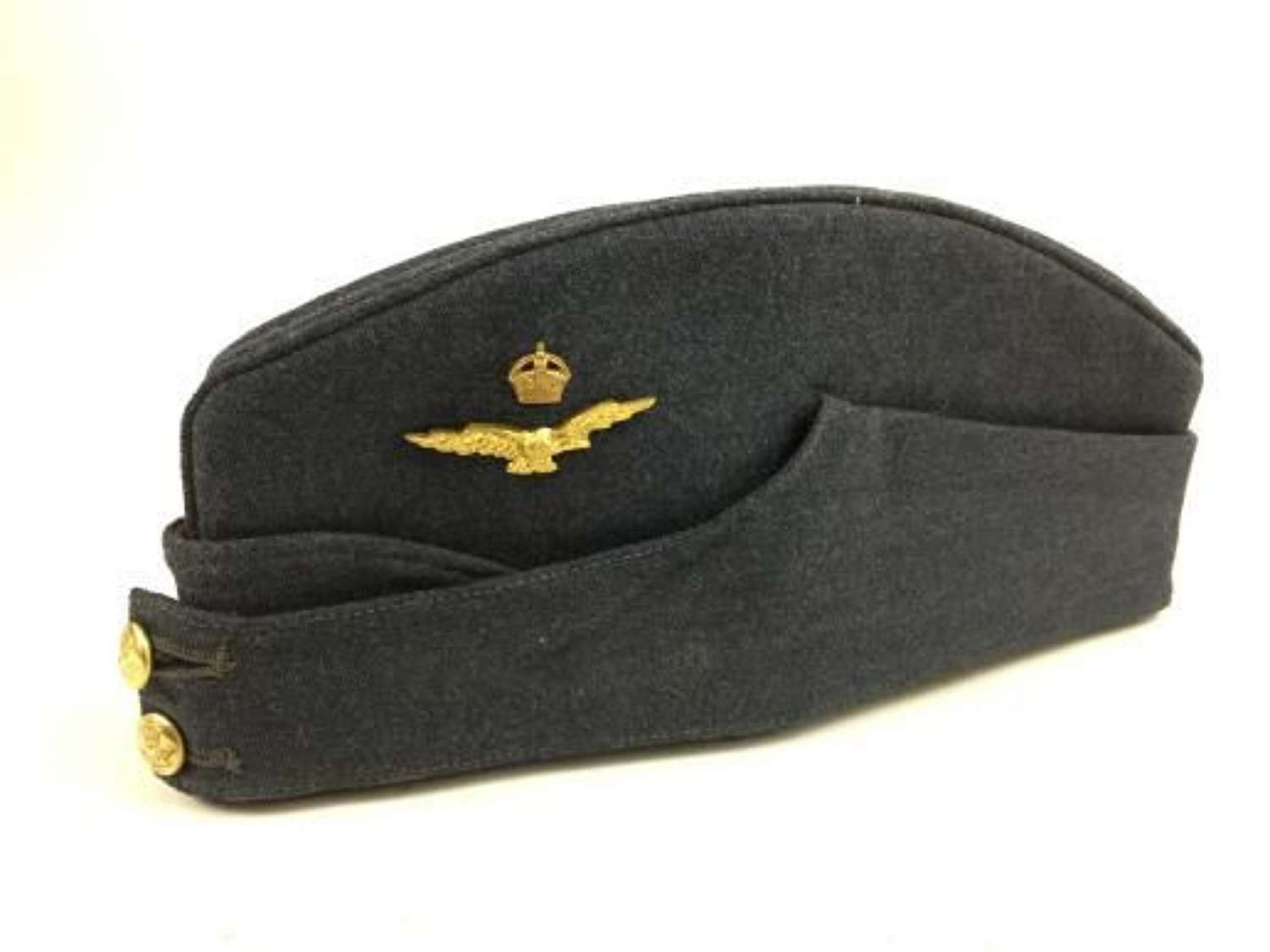 Original 1940 Dated RAF Warrant Officers FS Cap