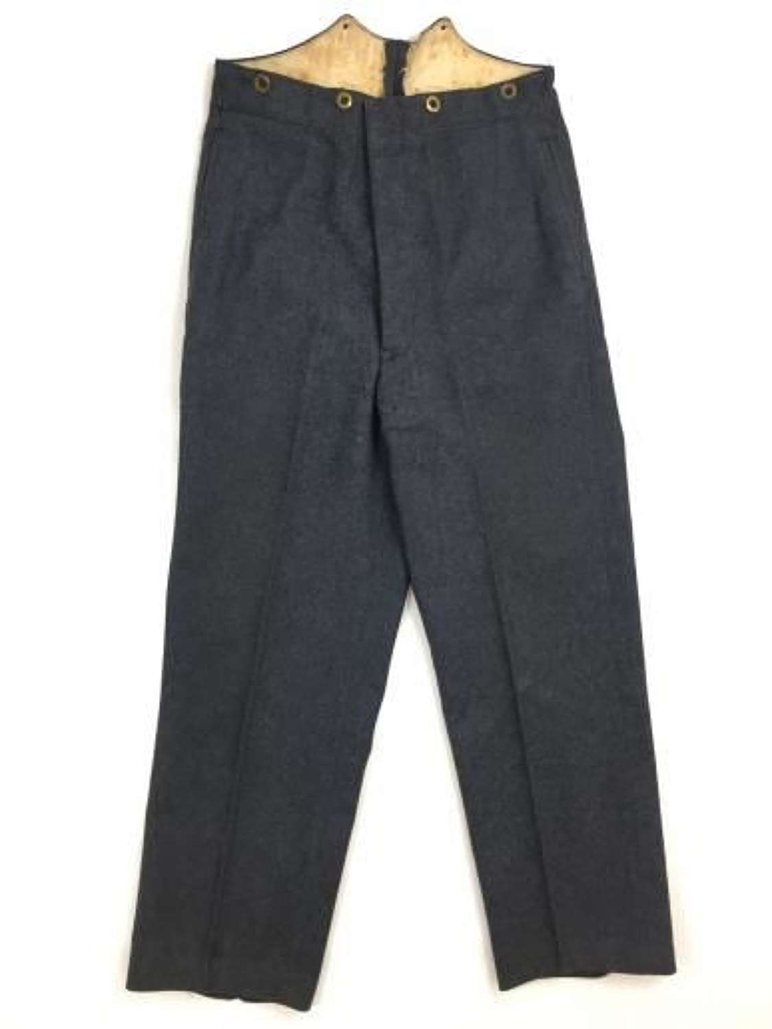 Original 1942 Dated RAF Ordinary Airman's Trousers with AV Stamp