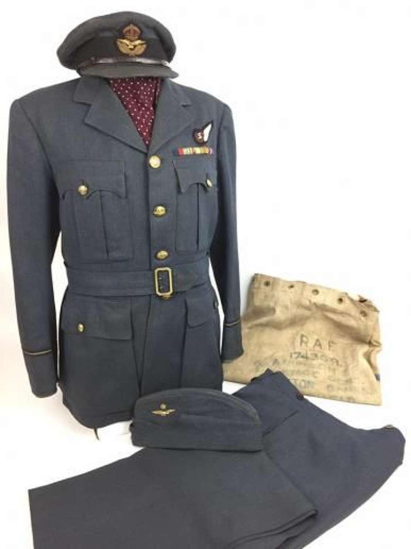 Original WW2 RAF Bomber Command Uniform Grouping