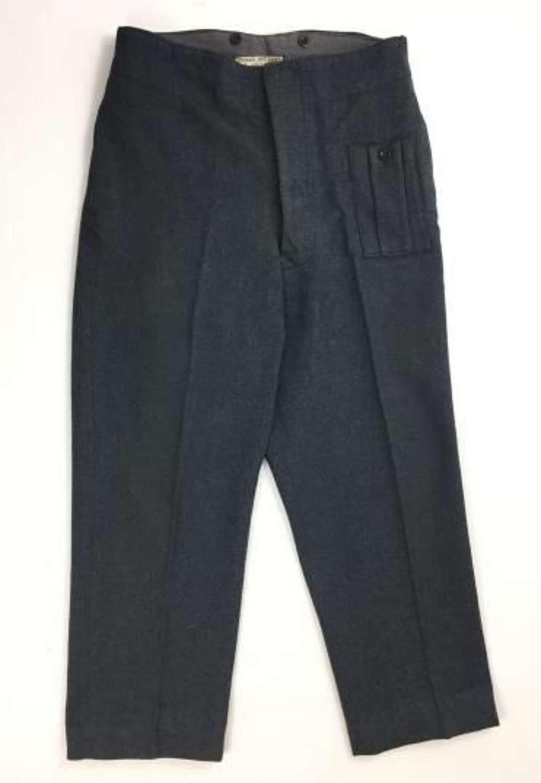 Original 1946 Dated RAF War Service Dress Trousers