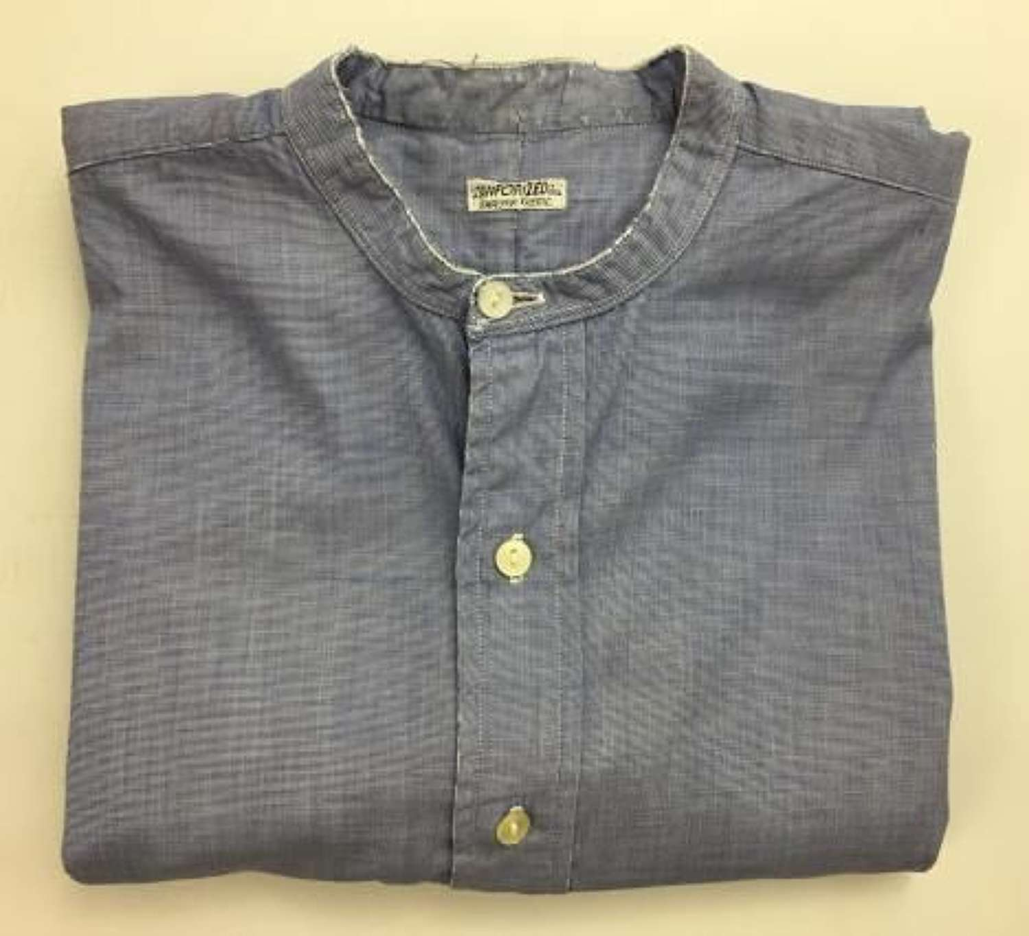 Original WW2 Period RAF Officers Collarless Shirt