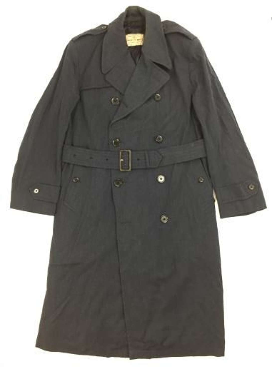 RAF Officers Raincoat to Battle of Britain Fighter Pilot Peter Parrot
