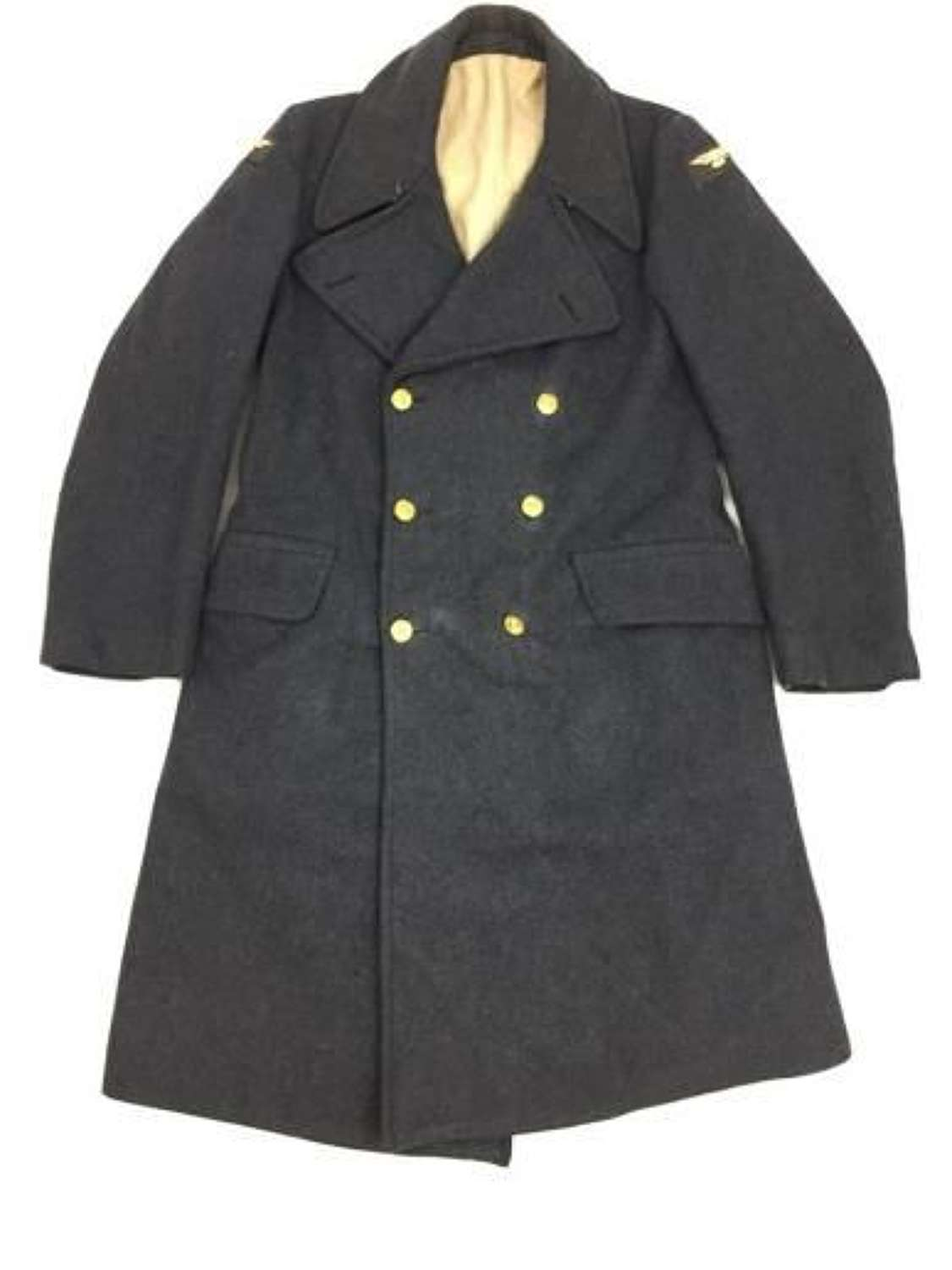 1944 Dated RAF Ordinary Airman's Greatcoat Size 10 - LAC Maxwell