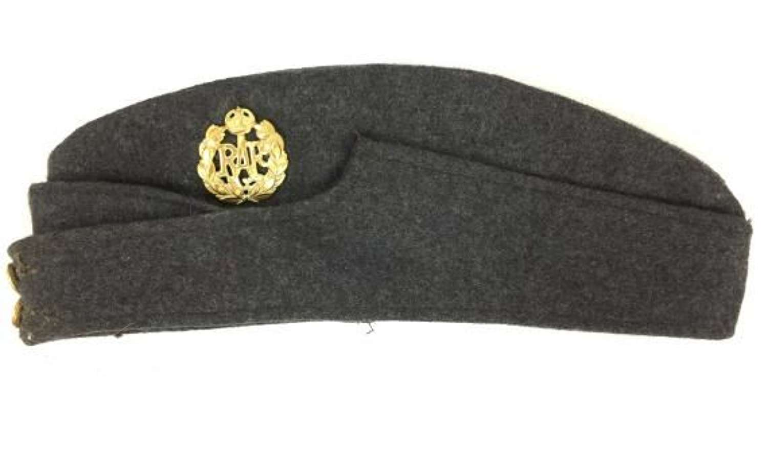 WW2 Indian made RAF Ordinary Airman's Forage Cap - LAC Maxwell