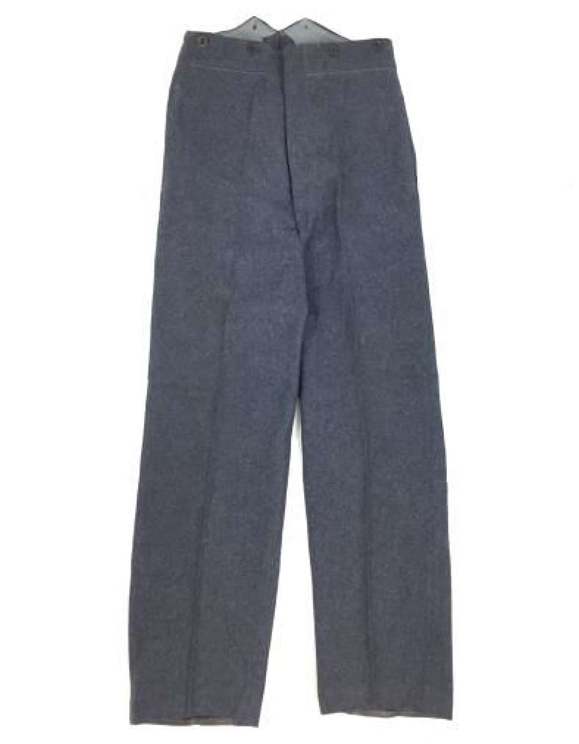 Original WW2 Pattern RAF OA Trousers Dated 1950 - Size 15