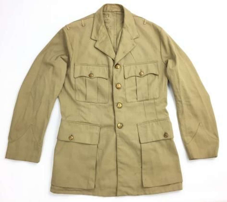 Original WW2 RAF Officers Khaki Drill KD tunic - Large Size