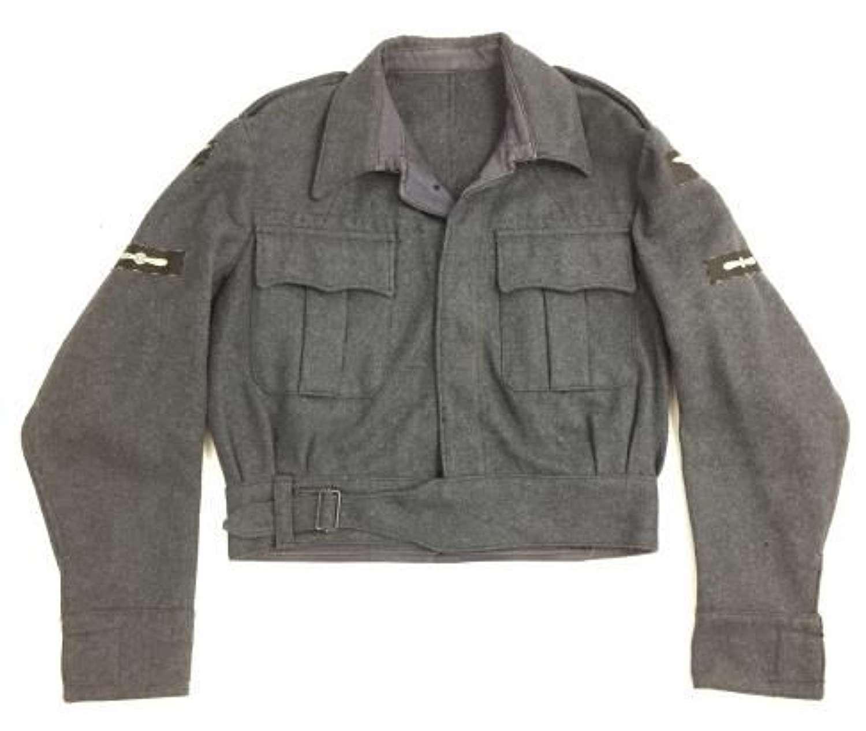 Original 1946 Dated RAF War Service Dress Blouse with LAC Insignia