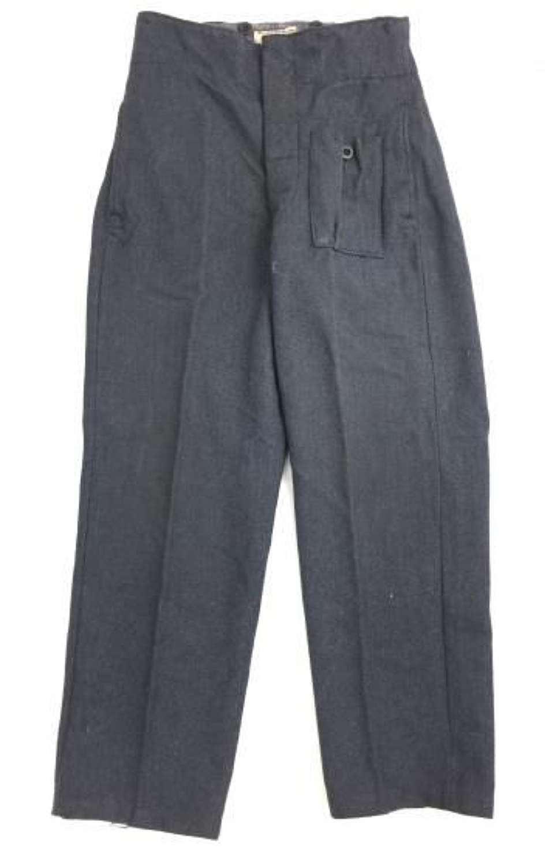 Original 1944 Dated RAF War Service Dress Battledress Trousers