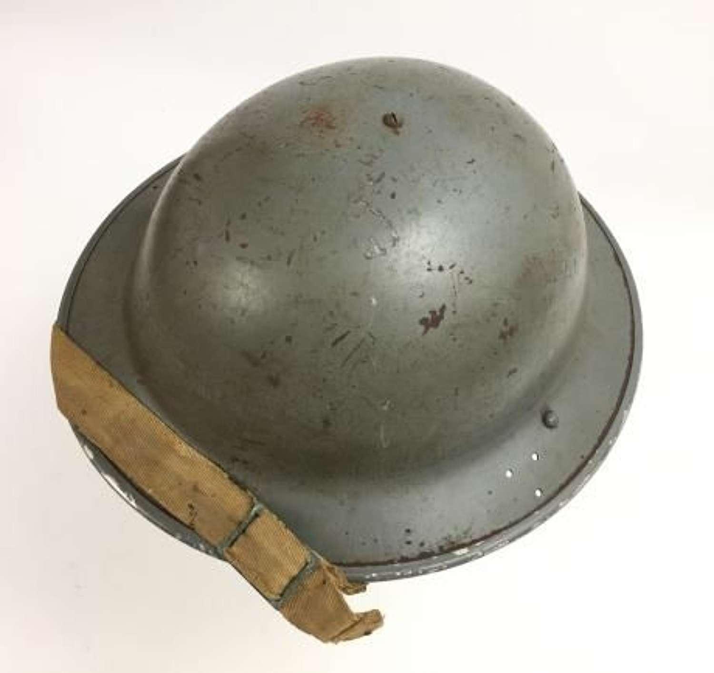1940 Dated MKII Number 2C Steel Helmet by 'British Motor Bodies'