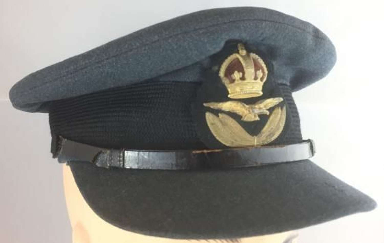 Pre War / Eary War RAF Officers Peaked Cap - Battle of Britain