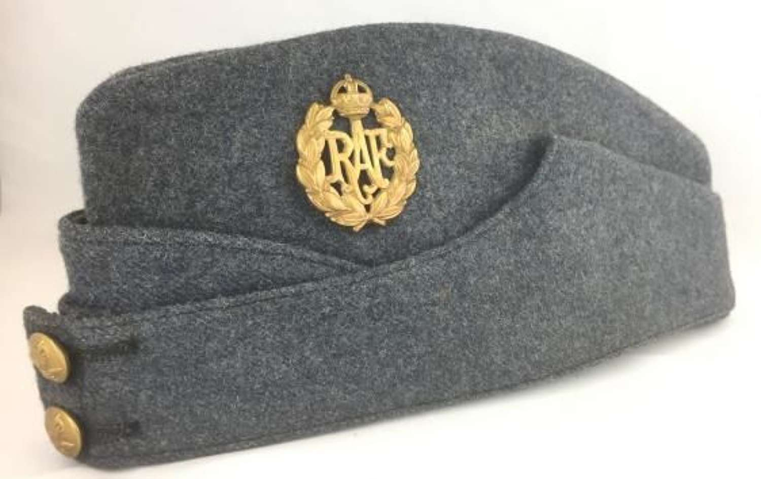 Original 1944 Dated RAF OA Forage Cap size 7 1/8
