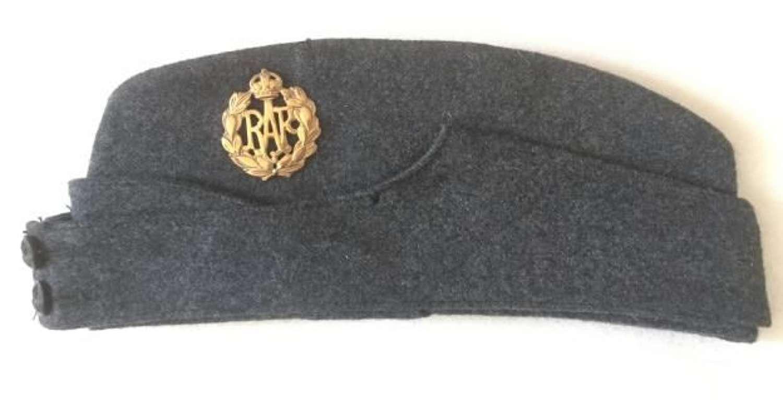 1945 Dated RAF OA Forage Cap - Size 6 3/8 (2)