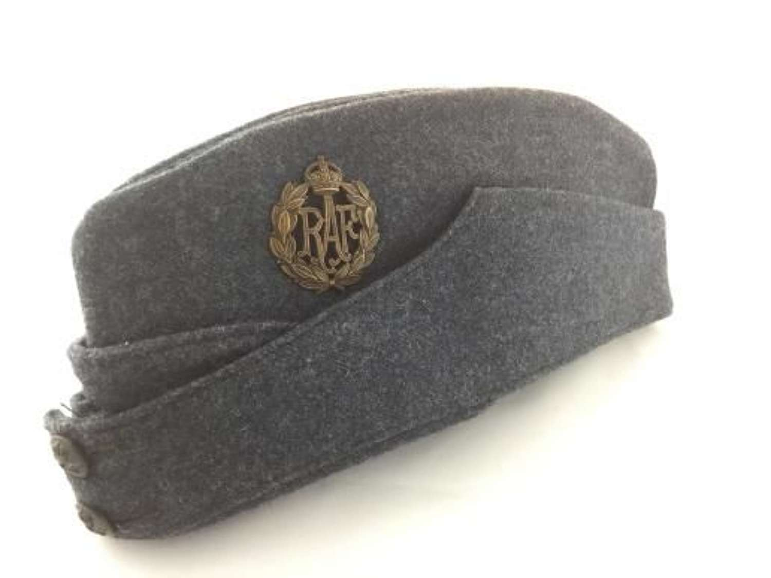 OUTSTANDING 1945 Dated RAF OA Forage Cap - Size 6 3/8