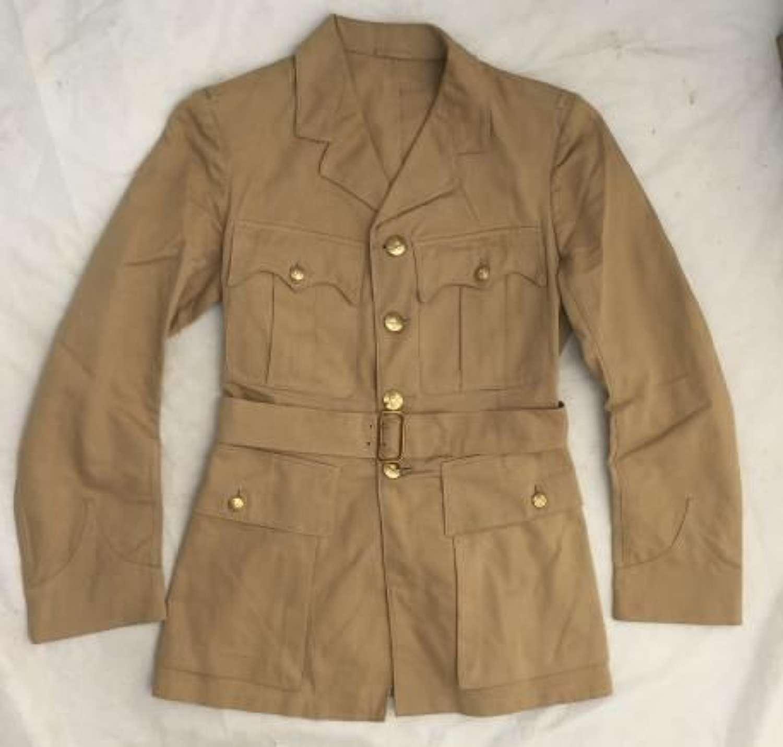 WW2 Pattern RAF Officers Khaki Drill Tunic Dated 1953