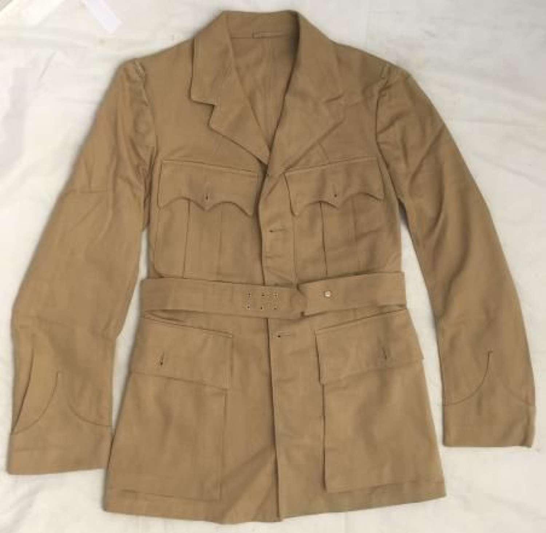 WW2 Pattern RAF Officers Khaki Drill Tunic Dated 1953 (2)