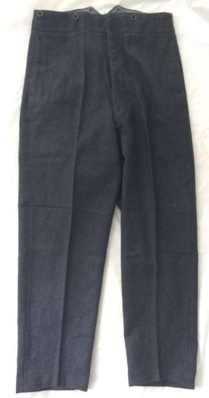 WW2 Pattern RAF Trousers O.A Dated 1951. Size 23