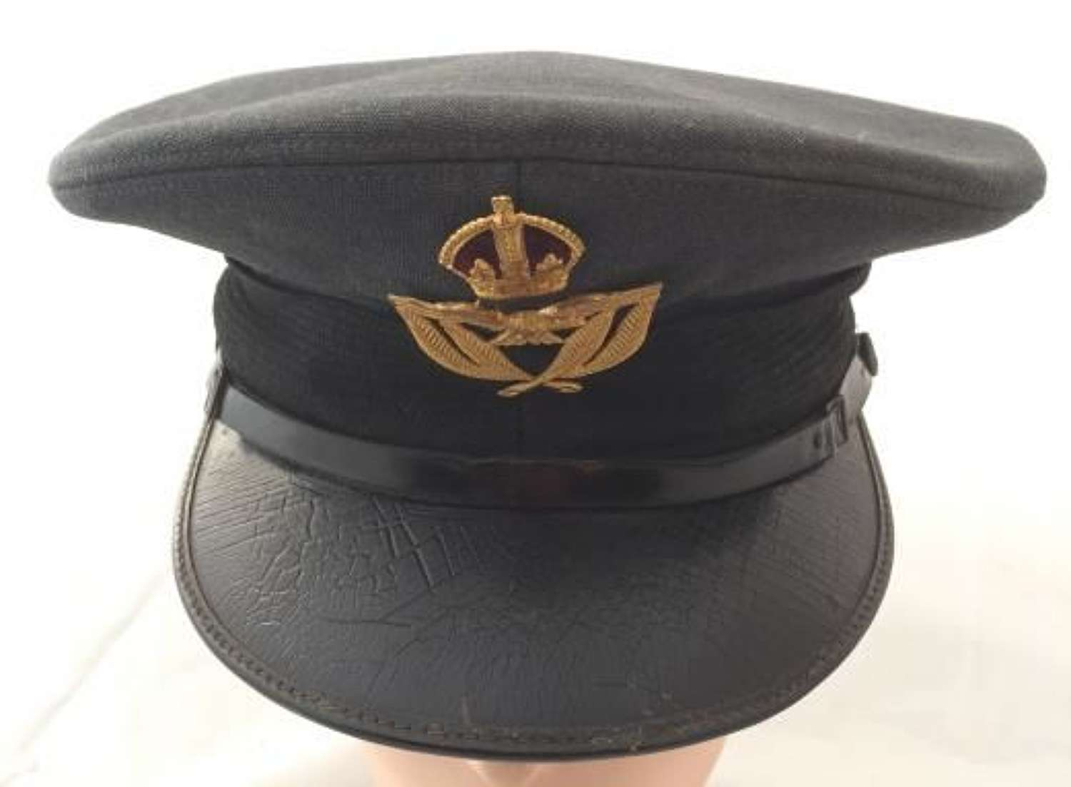WW2 Period RAF Warrat Officers Peaked Cap