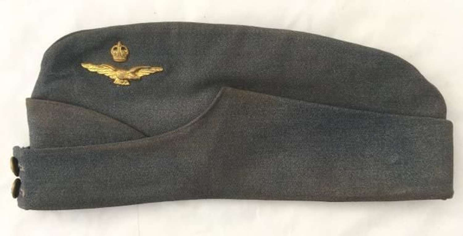 Original Wartime RAF Officers Side Cap
