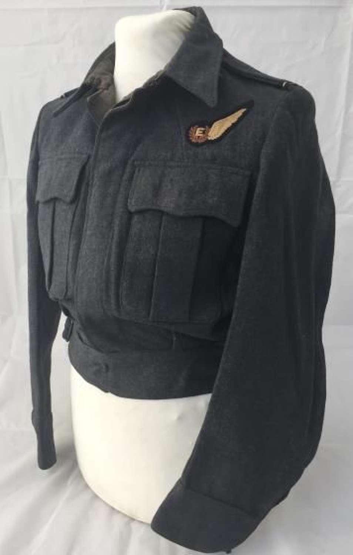 Original 1944 Dated RAF War Service Dress With Engineers Brevet