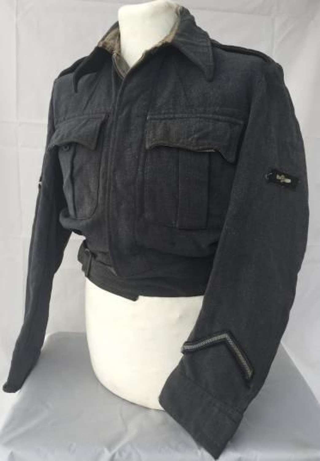 Original WW2 RAF War Service Dress Blouse with LAC insignia