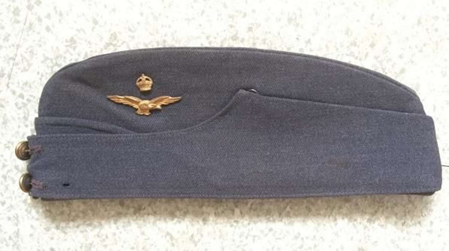 RAF Officers Side Cap by Battersby
