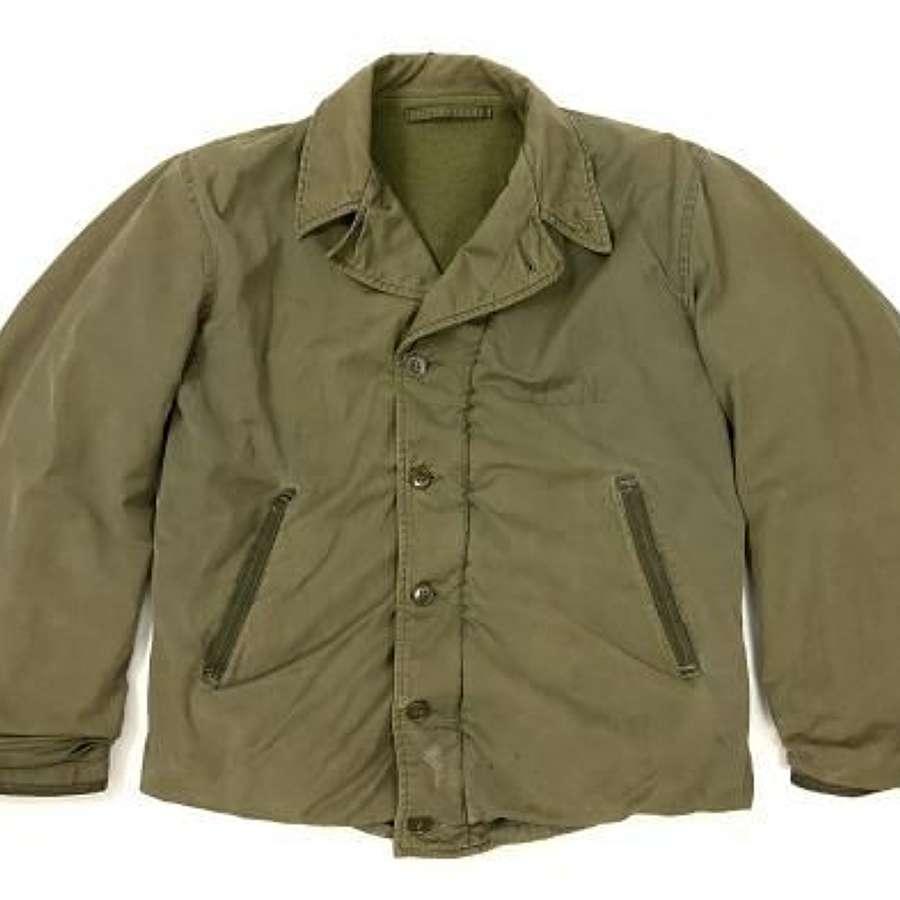 Original 1940s US Navy N-4 Deck Jacket