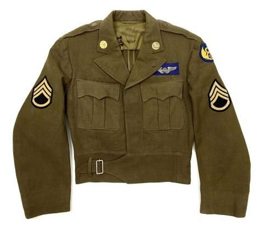 Original WW2 USAAF 8th Air Force Enlisted Men's Cut-down Tunic