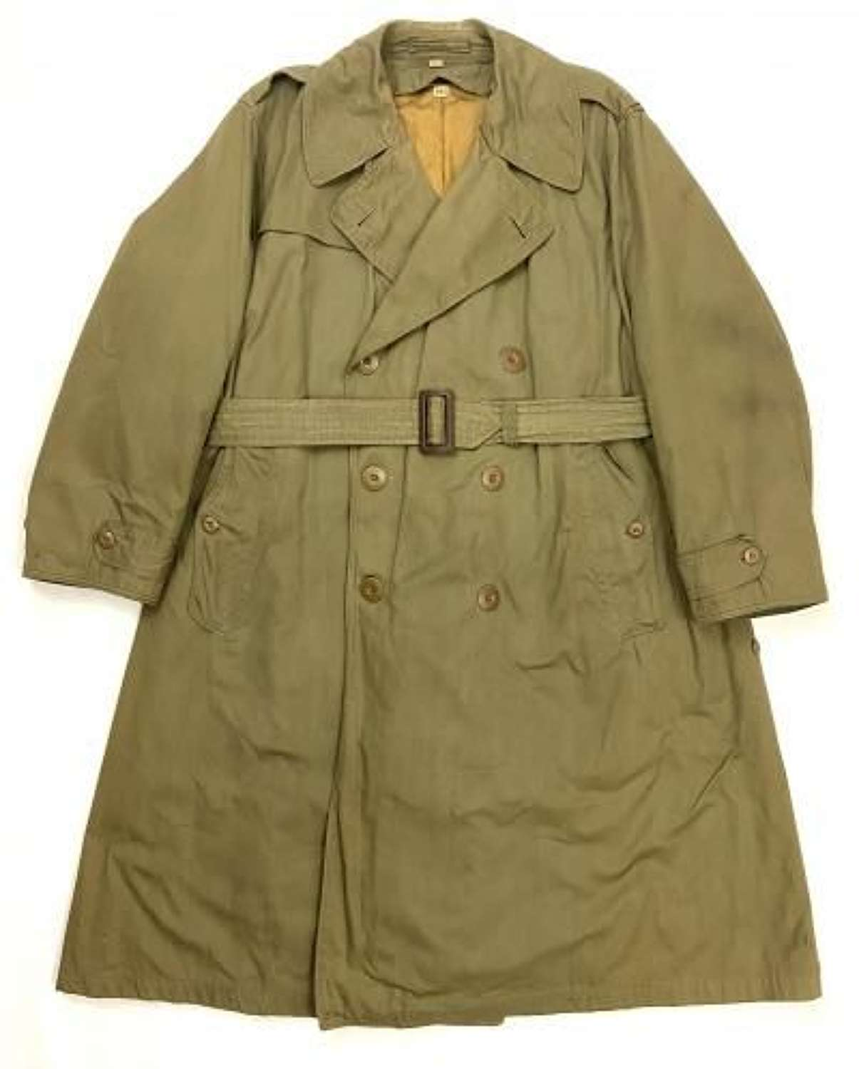 Original 1944 Dated US Army Officers Raincoat - Size 40S