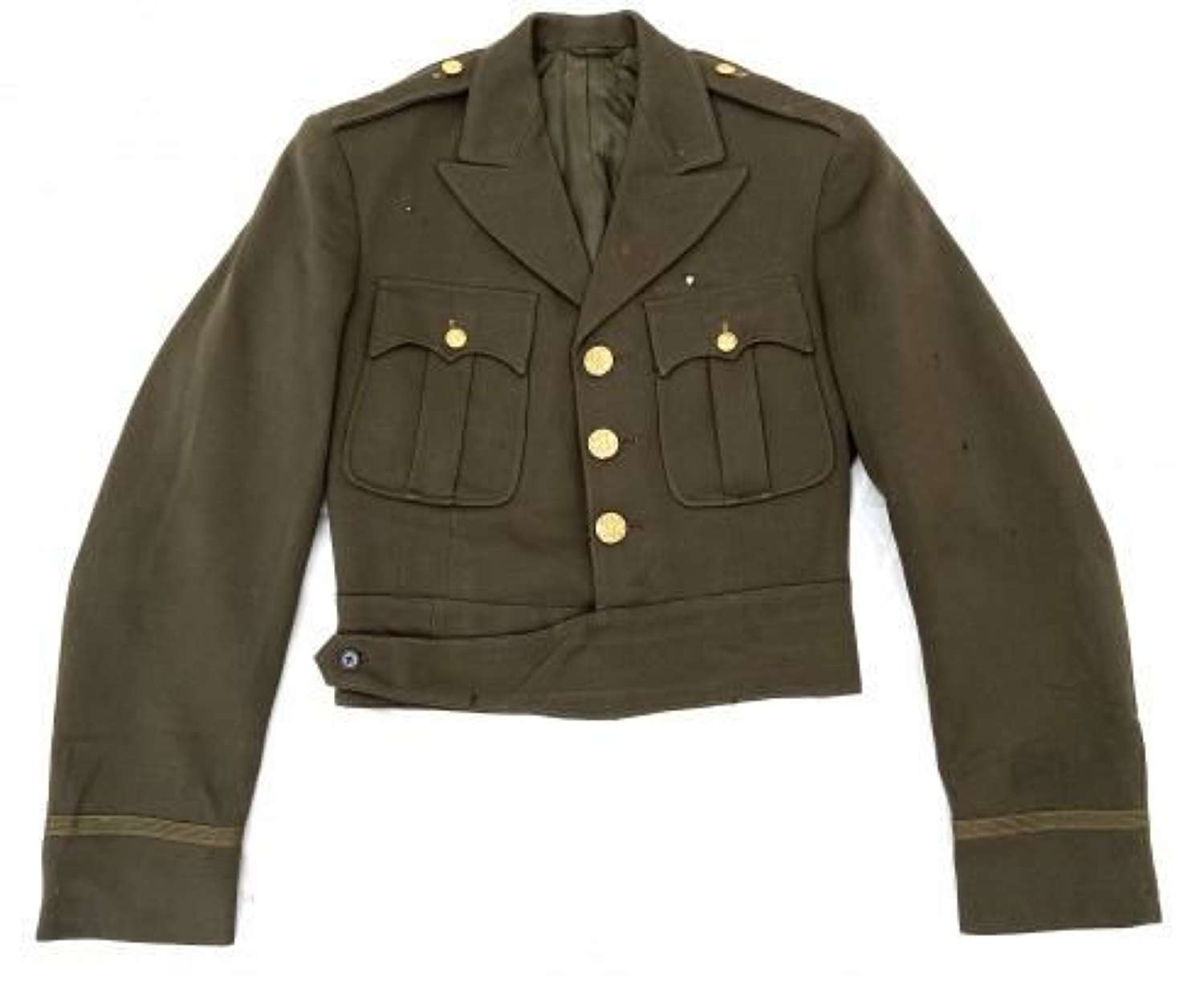 Original 1943 Dated Cut Down US Officers A Class Tunic