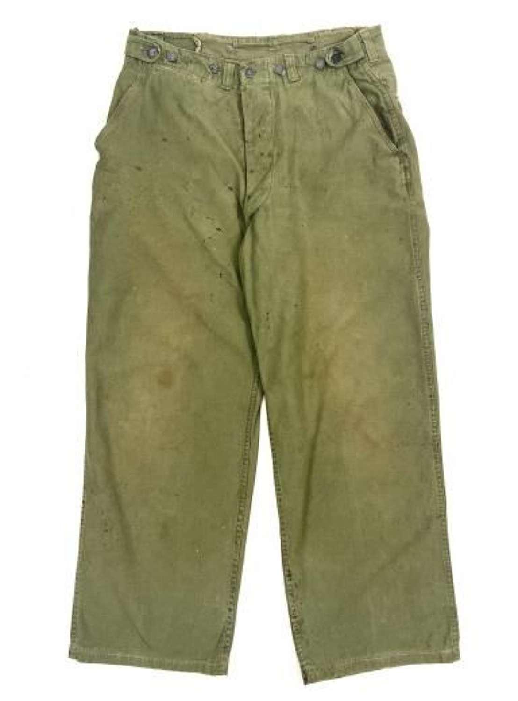 Original US Second Pattern M43 Trousers
