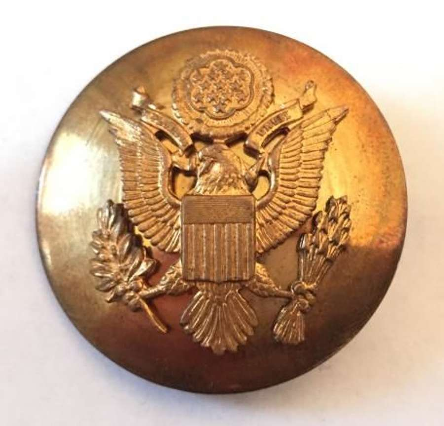 Original WW2 US Enlisted Men's Cap Badge