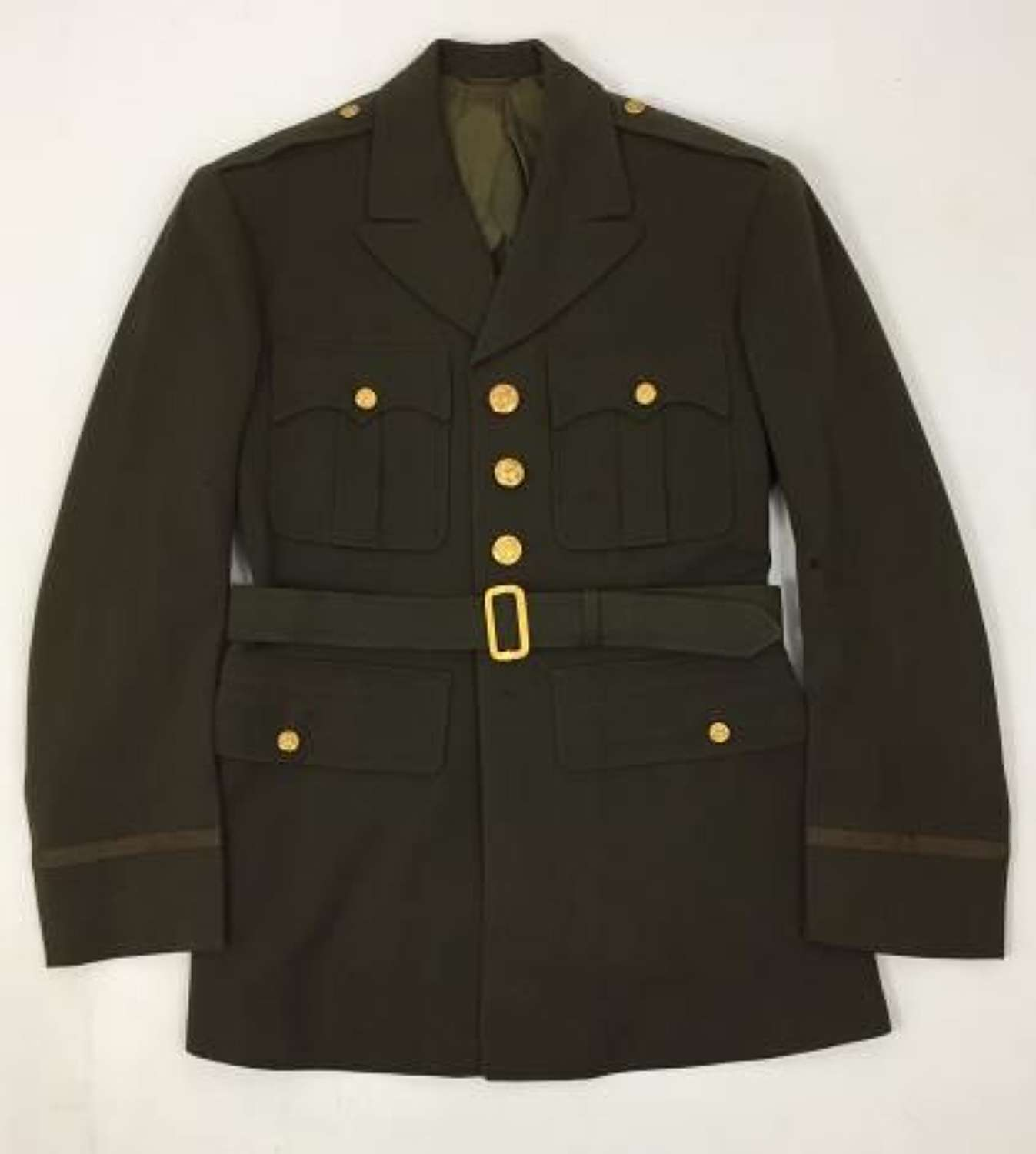 Original 1942 Dated US Army Officers Tunic - 37R