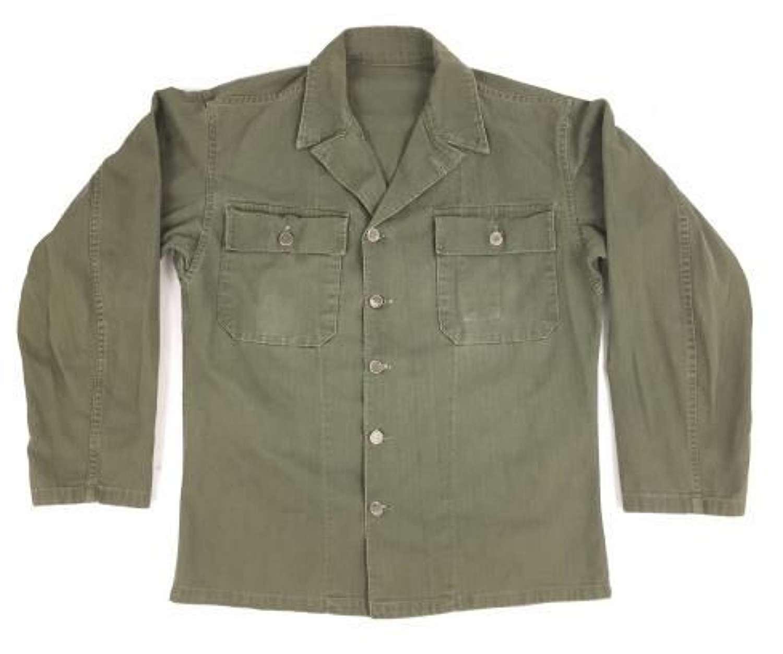 Original WW2 Period US Fifth Pattern HBT Jacket