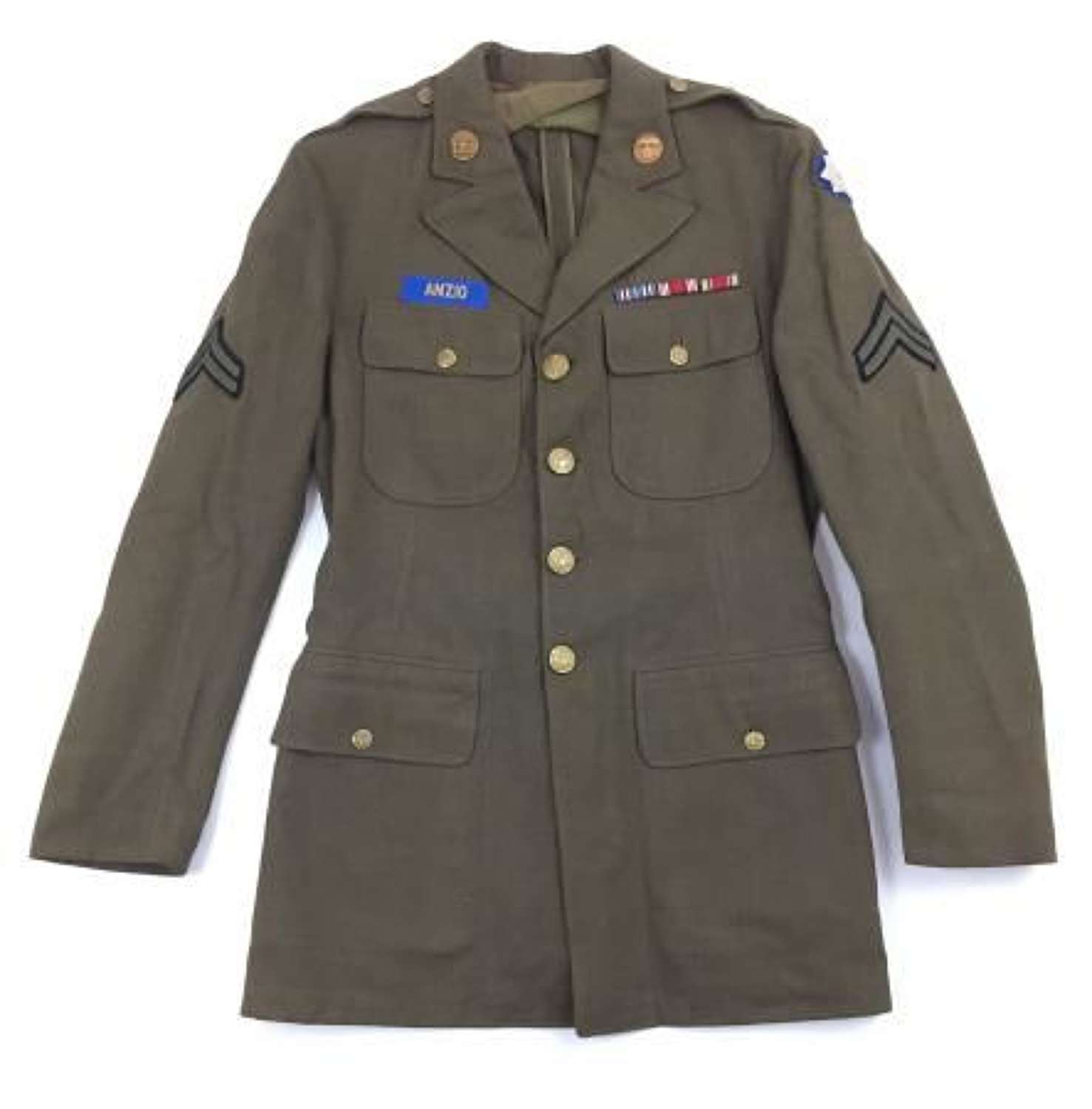 Original 1941 Dated US Army EM Tunic - 9th Service Command