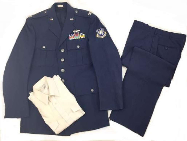 Complete Original US Air Force Space Command Uniform - 42 L
