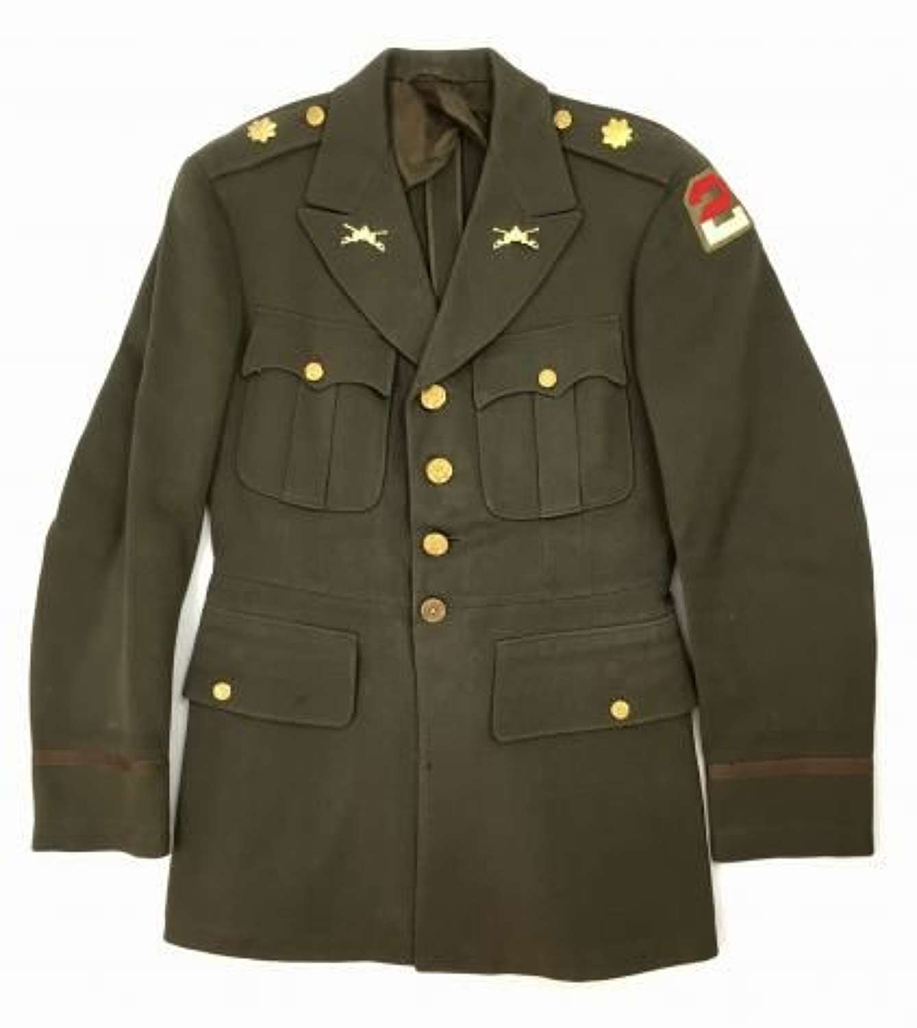 Original 1942 Dated US Army Officers Tunic - 39 R