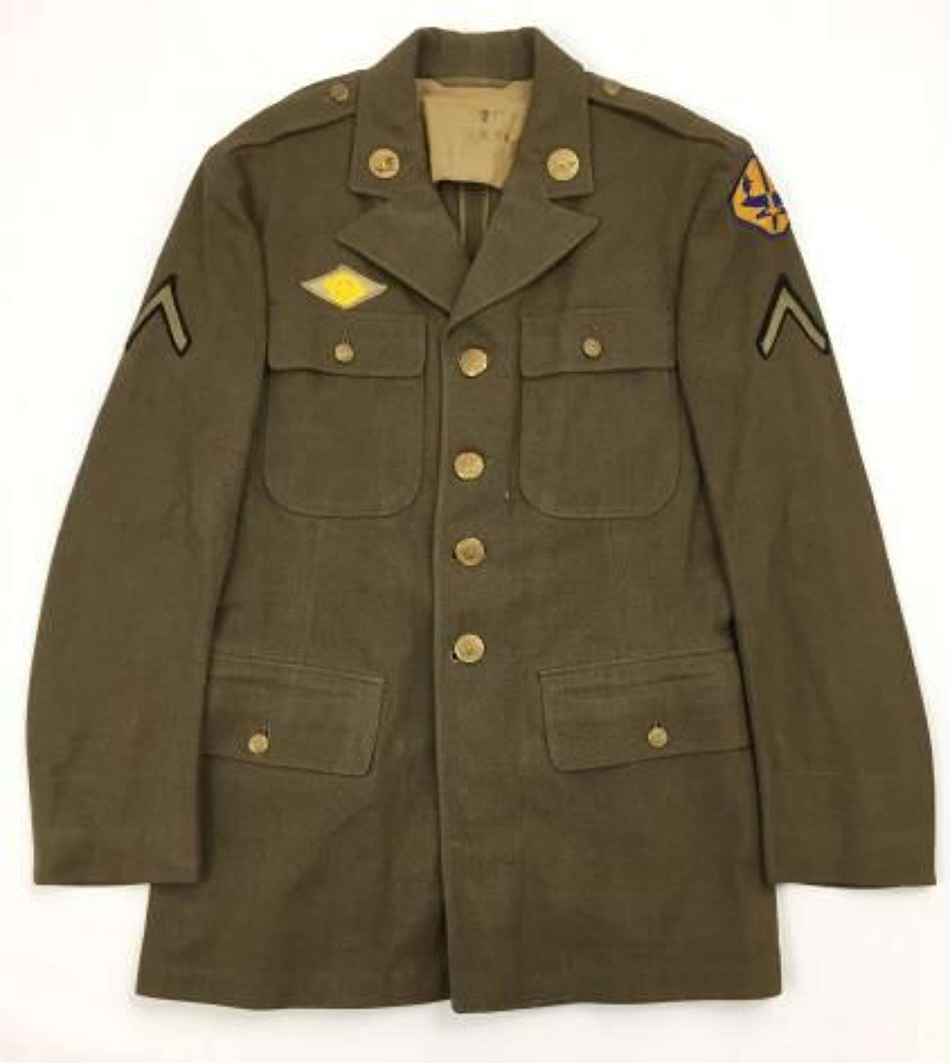 1942 Dated US Enlisted Men's Tunic - Size 39 R