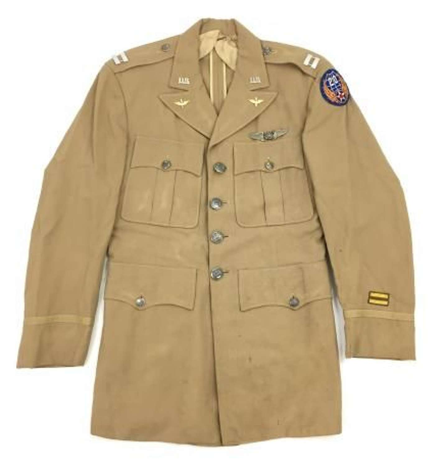 Original 1954 Dated USAF 20th Air Force Observers Summer Tunic