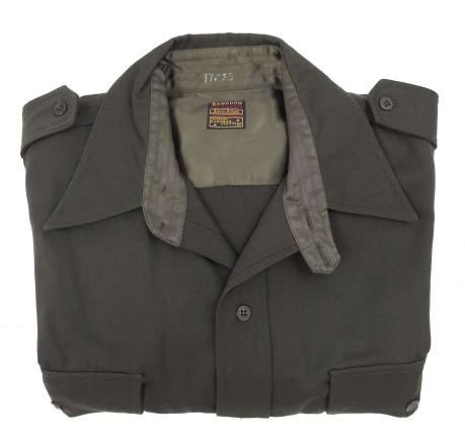 US Army Officers Chocolate shirt by 'Eastman'